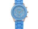 Стилен унисекс часовник Geneva в актуални летни цветове само за 9.90 лв. от Fashion Gift