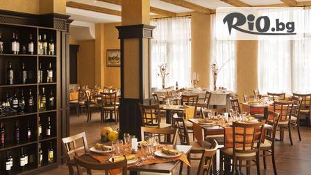 СКИ и СПА почивка в Банско! Нощувка със закуска и вечеря + басейн и СПА за 39.40лв, от Хотел Маунтийн Дрийм***