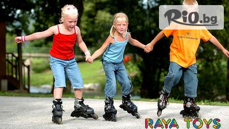 Детски ролери 2 в 1 за пързаляне в открити и закрити пространства, стилен подарък за вашето дете на ТОП цена 79лв, от Raya Toys! Вземете на място или поръчайте с доставка