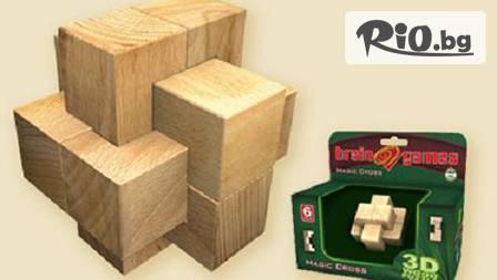 Логически игри за вас и вашето дете по избор от 3 варианта: 3D-пъзел за 12.95лв., комплект 8 игри или комплект 2 настолни колективни игри.