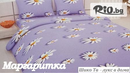 Нови десени! Луксозен спален комплект за единично легло само за 22.99лв, от Шико-ТВ ООД