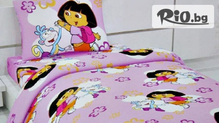 Детски спални комплекти от 100% памук с най-модерните и любими анимационни герои само за 22.99лв от Шико-ТВ ООД. За сладки сънища на вашето дете!