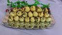 Плодова торта със снимка по избор, 18-20 парчета - ванилов крем, бели блатове, плодове