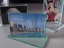 Луксозна стъклена поставка за снимка за 13,99 лв. - за модерния дом или офис