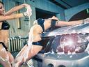 Машинно полиране на лек автомобил с паста и комплексно измиване за 25лв от АВТОМИВКА ПРЕСО