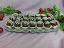 Еклерова торта 16-18 парчета - бели блатове, ванилов крем, еклери, покрити с шоколад