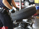 Смяна на 2 броя гуми (сваляне, демонтаж, качване, монтаж, баланс) до 22 цола
