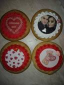 Изненадай любимия човек за Св. Валентин! Комплект меденки по избор с ваша снимка / украса