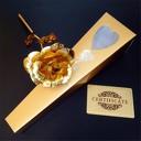 Златна Роза с 24к покритие в изискана кутия и с безплатна доставка, от АВИ Трейдинг Груп