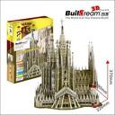 3D пъзел с 223 части за цялото семейство! Базиликата в Барселона /The Sagrada Familia/