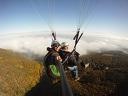 Тандемен полет с парапланер + височинен полет с акробатика, видео и снимки