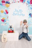 Детска фотосесия за рожден ден в студио + 20 обработени кадри, от Galliano Photography