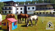 Почивка край Разлог! 2 или 3 нощувки, със закуски и вечери + конна езда от 33лв, от Прикюченска къща конна база Русалиите