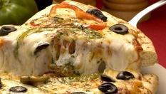 """Вкусна италианска пица """"Бианка""""(500гр, 33см) с 50% отстъпка само за 3лв, от Италиански ресторант Pomodoro"""