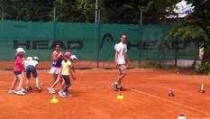 Цял ден забавления и спорт! Целодневен детски тенис лагер само за 20лв, от Тенис кортове Раковски