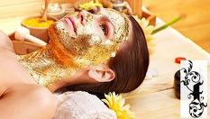 Терапия за лице! 2в1 Дълбоко почистване на лице, плюс златна терапия - за 21.90лв, от Салон за красота Fleur Style