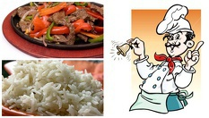 Свинско бон филе ШАГАЯКИ /700 гр./ + задушен бял ориз или картофено пюре /300 гр./ - за 14лв, от Кулинарна къща Ники