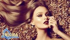 Златна възможност за косите! Златна терапия 24K Gold с измиване, изсушаване и стайлинг само за 19.90лв, от Верига Дерматокозметични центрове Енигма