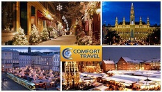 Коледна екскурзия до Виена и Будапеща! Три нощувки със закуски, ПРАЗНИЧНА вечеря на 24.12 и транспорт с комфортен автобус - за 290лв, от Комфорт Травел
