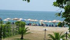 На плаж в Гърция