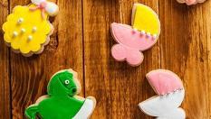 1кг. БУТИКОВИ бисквити за КРЪЩЕНЕ или за изписване от родилния дом само за 14.99лв, от Muffin House