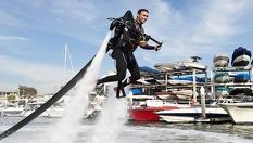 Екстремно приключение за любителите на водни спортове! Полет с джетпак край София само за 59,90лв. с 65% от Extreme388