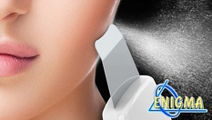 Ултразвукова шпатула за почистване на лице, нанотехнология за почистване и дезинкрустация само за 49.90лв, от Веригата Дерматокозметични центрове Енигма