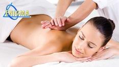 60-минутен Zensei масаж на цяло тяло по избор - класически, релаксиращ или спортно-възстановителен само за 39.90лв, от Верига Дерматокозметични центрове ЕНИГМА