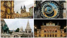 Прага, Виена и Будапеща