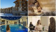 СКИ и SPA почивка в Банско! Нощувка със закуска или закуска и вечеря + СПА център и басейн на цена от 45.50лв, от Хотел St. John Hill Ski &Spa resort 4*