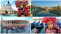 Венеция, Падуа и Верона