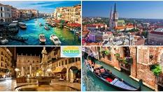 До Загреб, Верона и Венеция