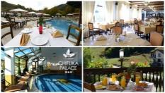 СПА почивка край Троян до края на Септември! 3, 4 или 5 нощувки със закуски и вечери + външен и вътрешен басейн с топла минерална вода, от Хотел Чифлика Палас 3*