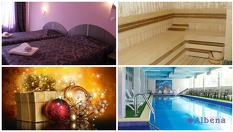 Коледа в Хисаря! 2 нощувки със закуски и празнични вечери с DJ програма на Коледа + СПА с вътрешен минерален басейн, от Семеен хотел Албена 3*