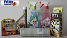 Комплект за вътрешно почистване на автомобил от замърсяване върху текстил и кожа само за 7лв, от MAX