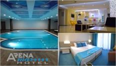 СПА почивка в Златни пясъци! Нощувка със закуска и вечеря + басейн и СПА пакет, от Хотел Арена Мар 4*