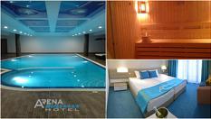 4-звездна All Inclusive почивка в Златни пясъци! Нощувка + СПА пакет с вътрешен отопляем басейн, от Хотел Арена Мар 4*