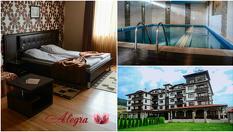 Изгодна СПА почивка във Велинград до края на Май! Нощувка със закуска и вечеря + СПА и минерален басейн, от Хотел Алегра 3*