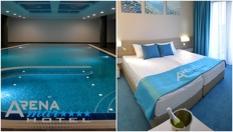 Пролетна All Inclusive почивка в Златни пясъци! Нощувка + СПА пакет с вътрешен отопляем басейн, от Хотел Арена Мар 4*