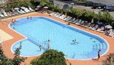 Ранно записване за почивка в Несебър! All Inclusive нощувка + басейн, шезлонг и чадър, от Хотел Арсенал