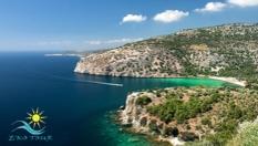 """3-дневна екскурзия до """"Зелената перла на Егейско море""""- Тасос! 2 нощувки със закуски, автобусен транспорт, екскурзовод и посещения на Кавала, от Еко Тур Къмпани"""