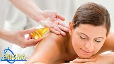 Едночасов хармонизиращ масаж - комбинация от класически и специализирани масажни похвати с коктейл от билкови етерични масла - за 29.90лв, вместо за 60лв от Верига Дерматокозметични центрове ЕНИГМА