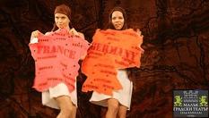 """Гледайте представлението """"Недоразбраната цивилизация""""в Малък градски театър """"Зад канала""""на 5 Юни 2015 от 19:00ч. само за 10лв."""