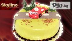 Незабравим рожден ден с Детска фигурална торта, плюс безплатна доставка само за 16.80 лв. от сладкарници Skyline!