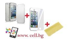 Сигурна защита! Калъфче, протектор и кърпа за почистване iPhone 4/4S, 5/5S или Samsung Galaxy - само за 3.99 лв. от Cell BG