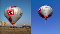 """Оригинален коледен подарък полет с БАЛОН в небето! Една незабравима въздушна разходка за двама + 1 дете с топло-въздушен балон само за 59 лв. от Балон клуб """"Феникс"""""""