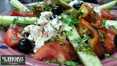 Основно ястие и салата