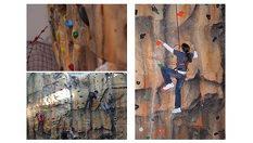 """3 изкачвания на стената """"Стиска ли ти?""""- Доза адреналин само за 5лв, в центъра на София /в City Center Sofia/"""