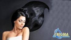 """Маскарпоне за коса - млечни протеини, мед, авокадо, ягода, папая и боровинка за бляскава и красива, копринена коса чрез ултразвук + прическа и стайлинг с или без подстригване на цени от 19.90 лв, от Верига Дерматокозметични центрове """"ЕНИГМА"""""""