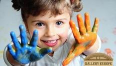 """Уроци по рисуване за деца или ученици на цена от 5.90 лв, от Галерия """"Европа"""""""